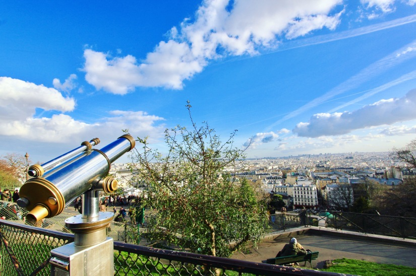 View on Paris from Montmartre